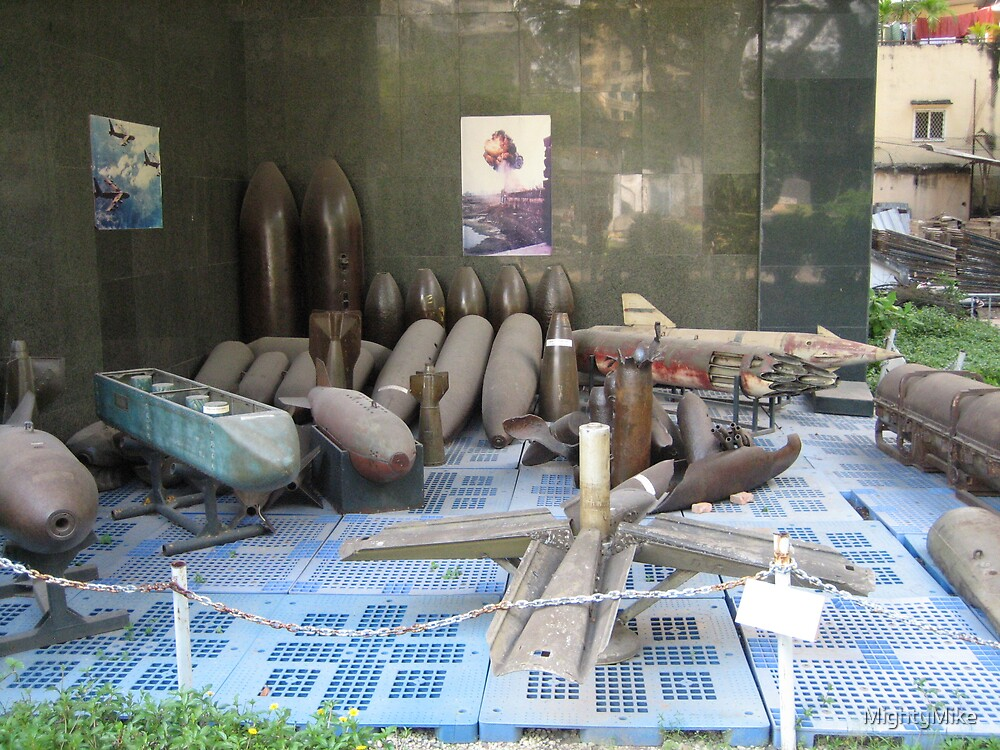 Bombs used during Vietnam War by MightyMike
