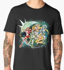 Sailor Rangers Go! Men's Premium T-Shirt