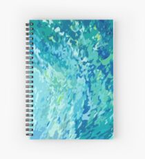 Horseshoe Bay Coastal Style Spiral Notebook