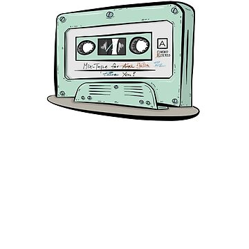 Funny Retro Design - Mixtape for You by PixelPuff