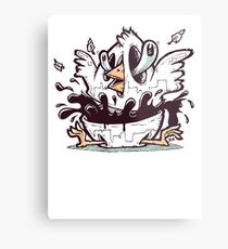 Easter Chick Metal Print