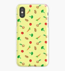 Vegetables colorful iPhone Case/Skin