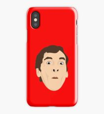 Carry On Film star and comedian, Kenneth Williams iPhone Case/Skin