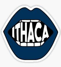 Ithaca Lips Sticker