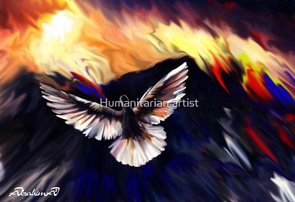 Flay  by Humanitarian artist