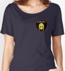 DMDC Detectorists Badge Women's Relaxed Fit T-Shirt