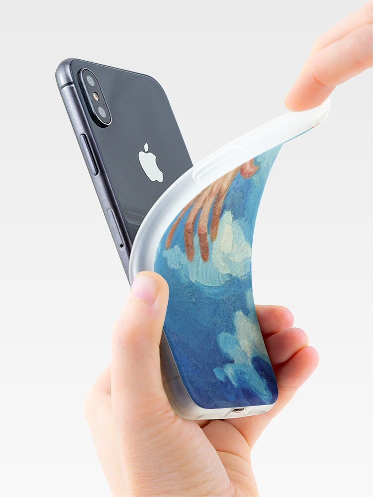 Alternate view of Touching Clouds iPhone Case & Cover