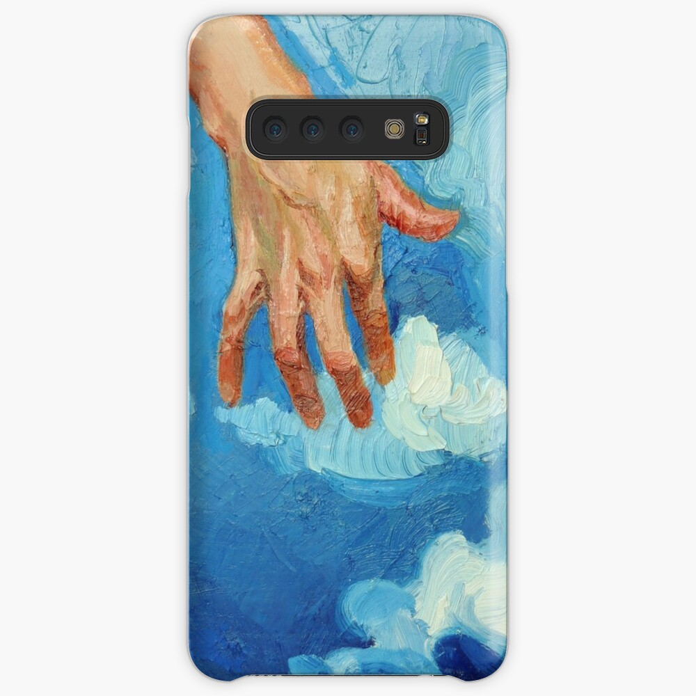 Touching Clouds Case & Skin for Samsung Galaxy