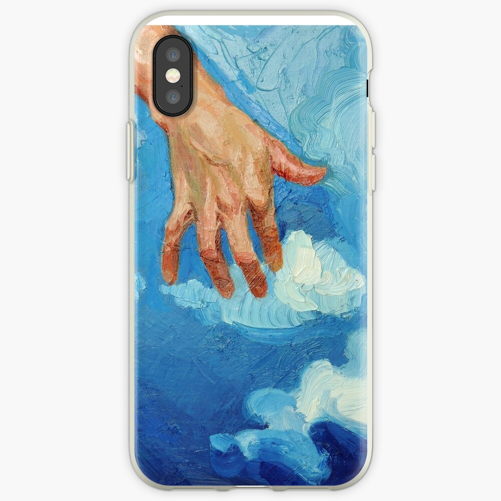 Touching Clouds iPhone Case & Cover