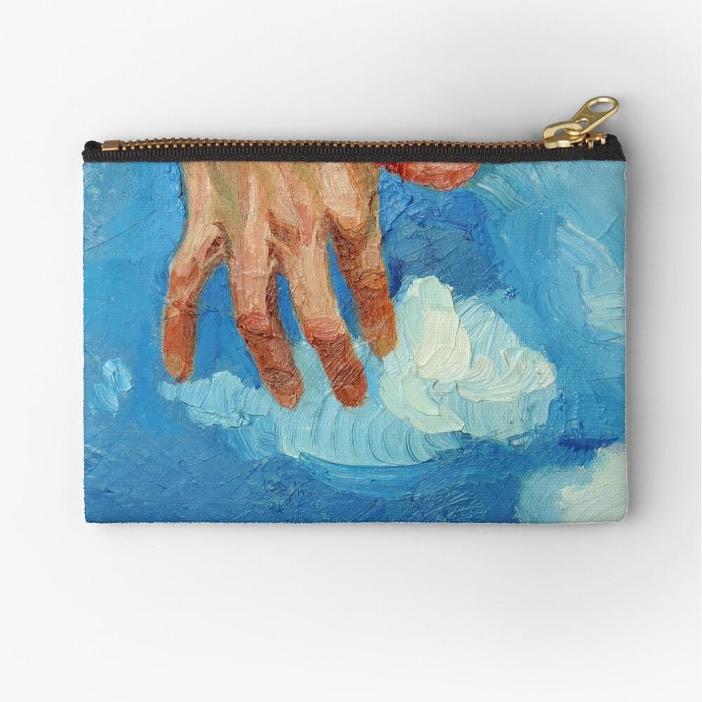 Touching Clouds Zipper Pouch