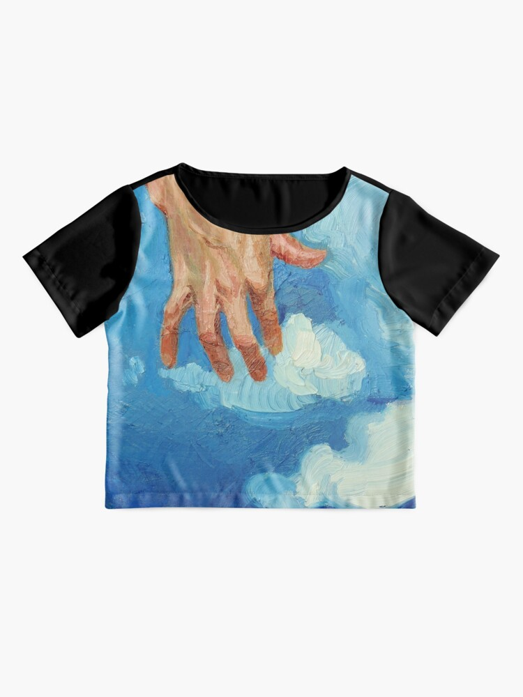 Alternate view of Touching Clouds Chiffon Top