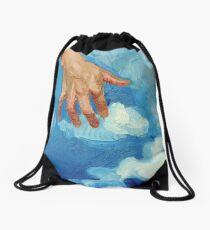 Touching Clouds Drawstring Bag