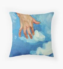 Touching Clouds Floor Pillow