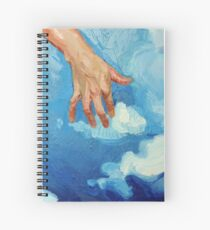 Touching Clouds Spiral Notebook