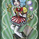 Jacklyn Carnival of Mayhem  by DianaLevinArt