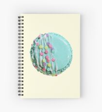 Mint French Macaroon by Maive Ferrando Spiral Notebook