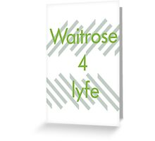 Waitrose 4 lyfe tote bags by x1phaser redbubble greeting card m4hsunfo