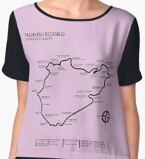 The Nurburgring - Nordschleife Chiffon Top