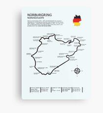 The Nurburgring - Nordschleife Metal Print