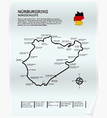 The Nurburgring - Nordschleife Poster