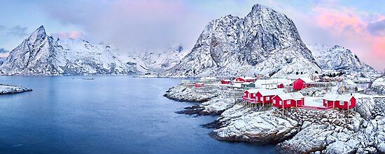 Lofoten Islands Pastels by Adam Gormley