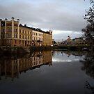 Another riverside view from Trädgårdsföreningen by 71featherst