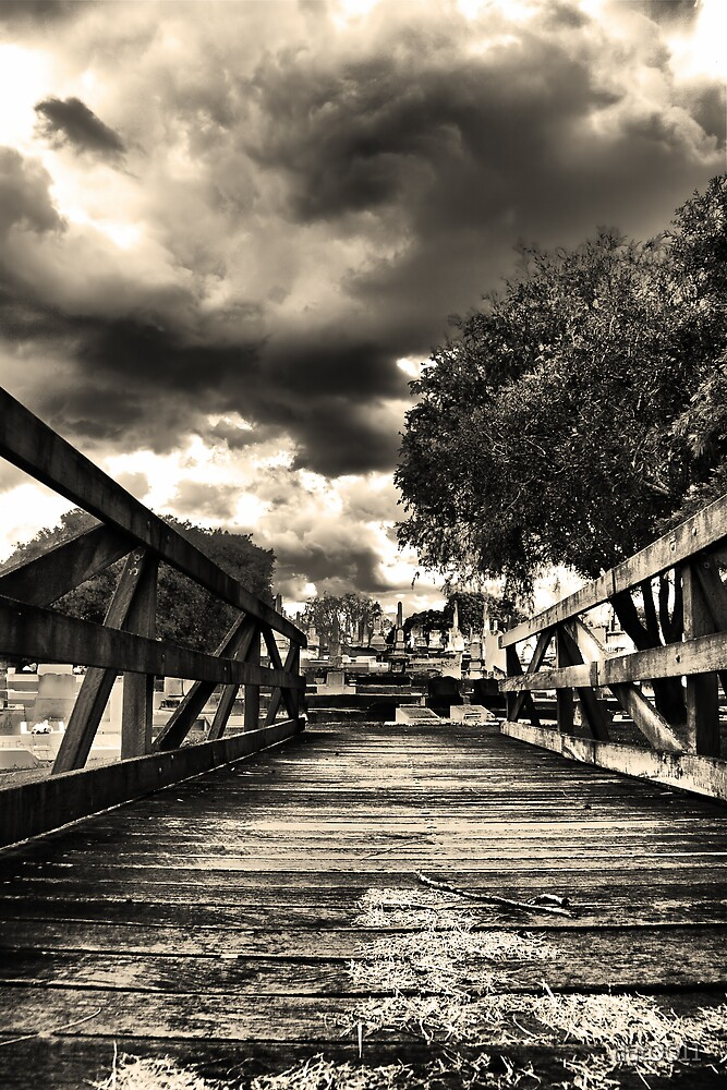 Everyone crosses the bridge one day by dgt0011
