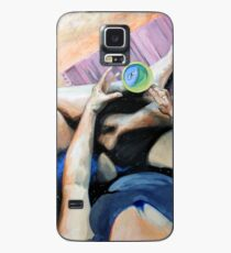 Blue Humanoid in My Tea Is Me? Case/Skin for Samsung Galaxy