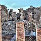 Roman Theatre, Cartagena, Costa Calida, Spain by Squealia