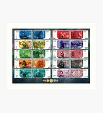 Final Fantasy Gil Banknote Collection Art Print