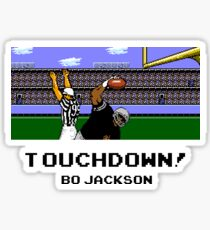 Touchdown! Bo  Sticker