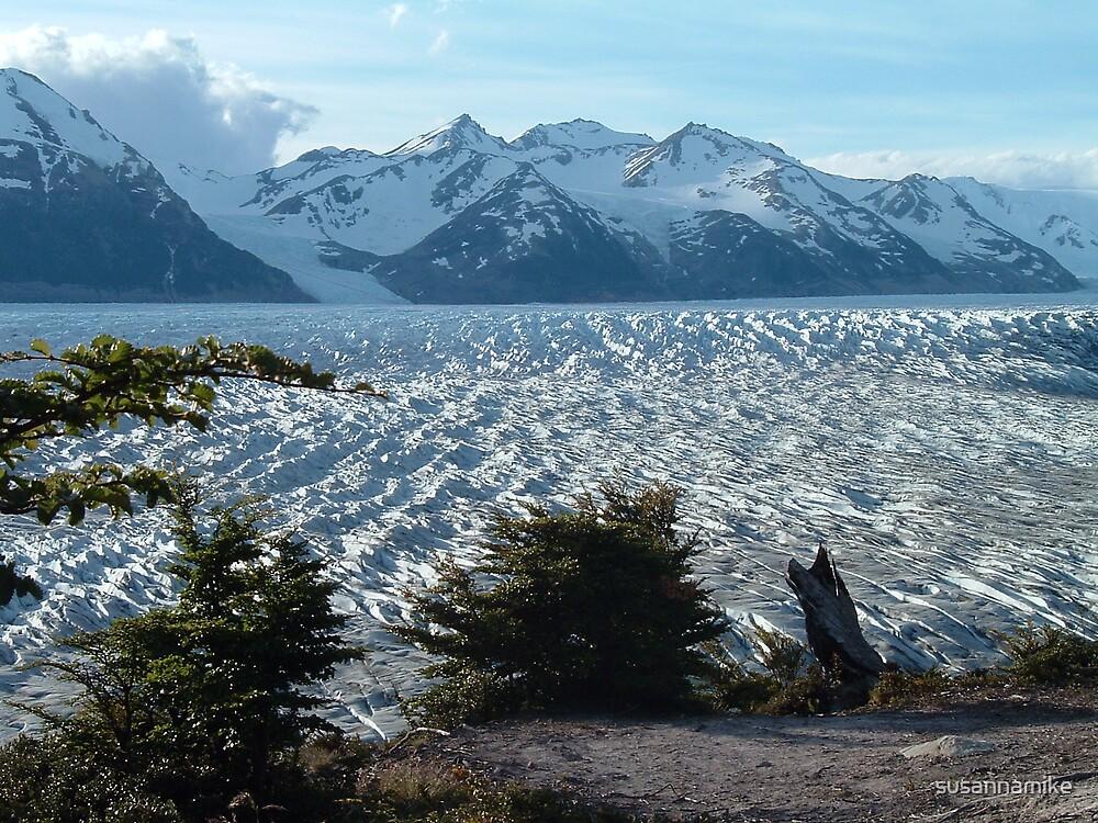 Glacier Gray, Patagonia by susannamike