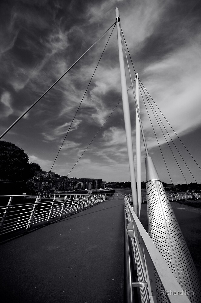 Millennium Bridge, Lancaster by Richard Ion