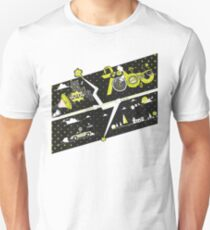 Tobu Yellow Comic Art Unisex T-Shirt
