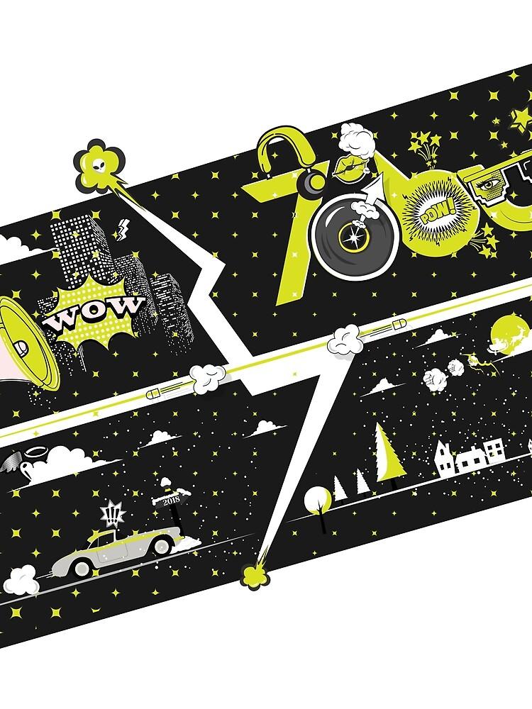 Tobu Yellow Comic Art by tobu