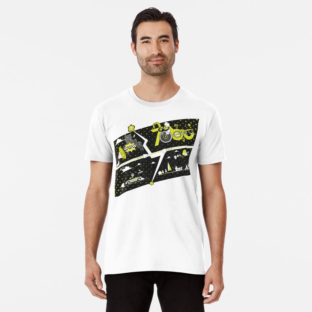 Tobu Yellow Comic Art Premium T-Shirt