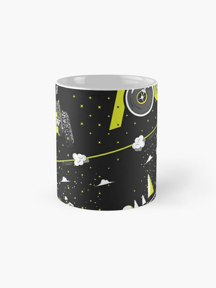 Alternate view of Tobu Yellow Comic Art Mug