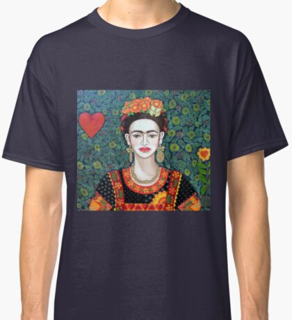 Frida, Queen of Hearts closer II Classic T-Shirt