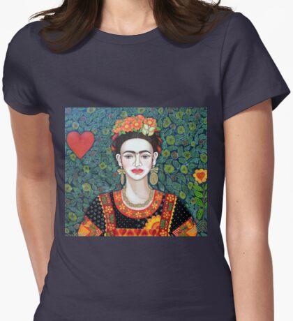 Frida, Queen of Hearts closer II T-Shirt