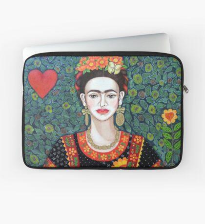 Frida, Queen of Hearts closer II Laptop Sleeve