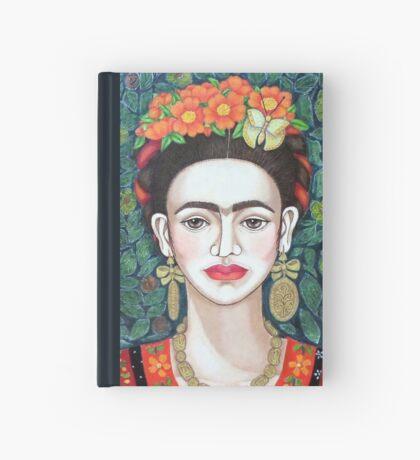 Frida, Queen of Hearts closer II Hardcover Journal