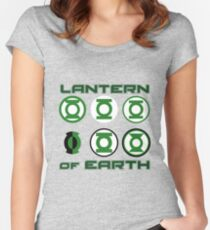 Lantern of Earth Women's Fitted Scoop T-Shirt