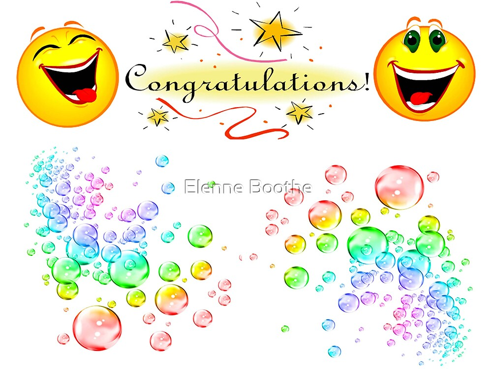 Congrats by Elenne Boothe