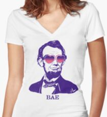 Bae Lincoln Women's Fitted V-Neck T-Shirt