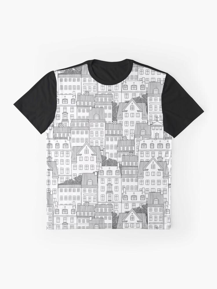 Alternative Ansicht von Kopenhagen Grafik T-Shirt