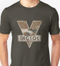 1984 INGSOC LOGO Slim Fit T-Shirt