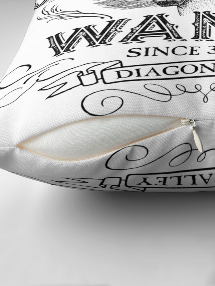Alternative Ansicht von Ollivanders Zauberstab Shop Dekokissen
