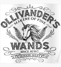 Ollivander's Wand Shop Poster