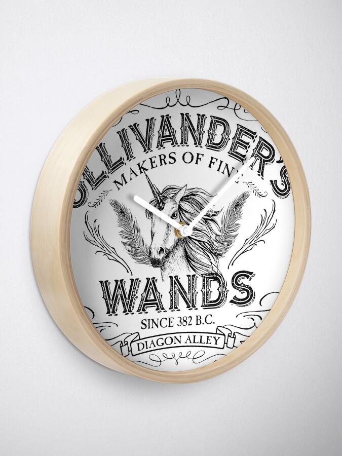 Alternative Ansicht von Ollivanders Zauberstab Shop Uhr