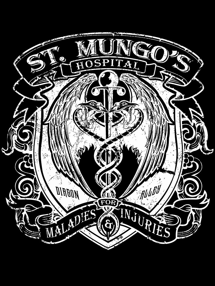 St. Mungo's Hospital for Magical Maladies and Injuries by Mindspark1